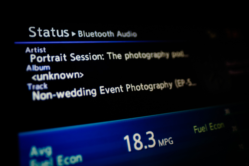 Portrait Session on the Improve Photography Podcast Network