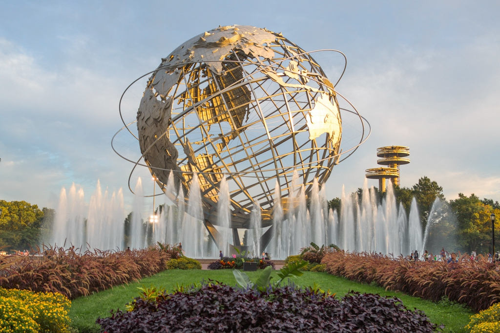 The Unisphere in Queens, NY